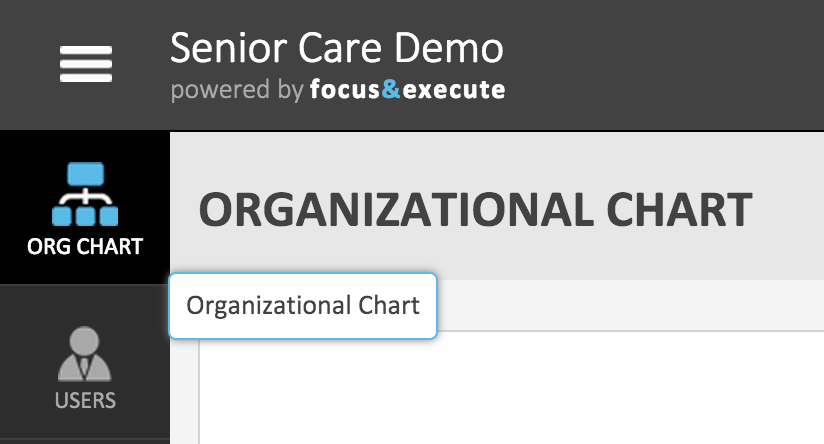Org Chart navigation icon